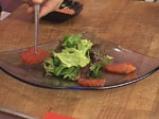 Салата от спанак и домат конфи 8