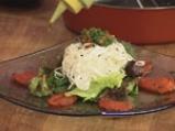 Салата от спанак и домат конфи 10