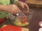 Ньоки със спанак и орехов сос 4