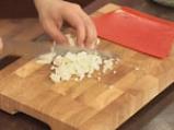 Ньоки със спанак и орехов сос 7