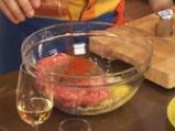 Гръцко руло от кайма с доматен сос 2