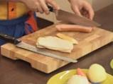 Гръцко руло от кайма с доматен сос 6