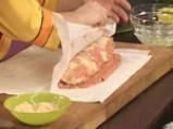 Гръцко руло от кайма с доматен сос 7