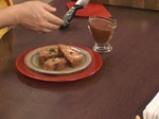 Гръцко руло от кайма с доматен сос 10