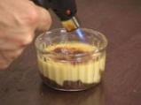 Джинджифилово брюле с банан и шоколад 8