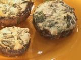 """Пълнени печурки с лапад и сирене """"Дун..."""