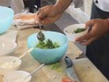 Индийска лятна салата с шафран и пиле 2