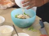 Индийска лятна салата с шафран и пиле 4