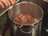 Гювеч с агнешко месо 3