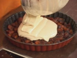 Торта с карамелизирани ябълки 4
