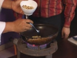 Джафрани пилау (Ориз с шафран и ядки) 2