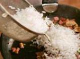 Ориз с гъби и бекон 4