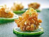 Панирани пилешки хапки с бадеми