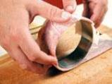Поширано филе от треска в кафе с