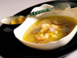 Сенегалска царевична супа с мед и ска...