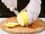 Изгубени хлебчета с канела и печени ябълки