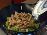 Зелен фасул по китайски 5