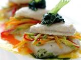 Милфьой от риба пангасиус със зеленчу...