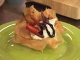 Тарт от точени кори с ягоди 5
