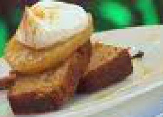 Смокинов кейк с бадеми и шоколад.