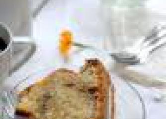 Кекс с тиква и лешници