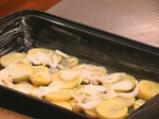 Херинга с картофи на фурна