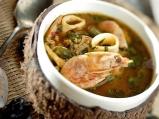 Морска супа с джинджифил