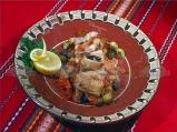 Бяла риба със зеленчуци в български стил