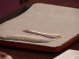 Филе от лаврак със зеленчукова коричка 2