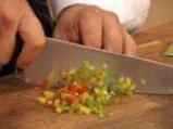 Филе от лаврак със зеленчукова коричка 5