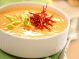 Крем супа от зеленчуци, пастърма и ка...