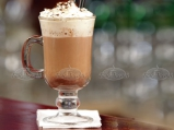 HOT ROM CHOCOLATE