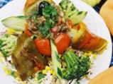 Цветна арбанашка салата
