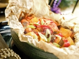 Гювеч със свинско и зеленчуци