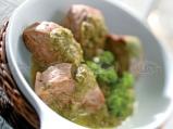 Свинско бонфиле със зеленчуков сос