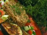 Булгурена салата с патладжан и леща