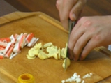 Виетнамски палачинки с пилешко и кокос 4