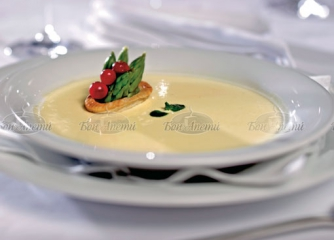 Крем супа от аспержи