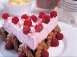 Торта с малини и бял шоколад