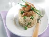 Ориз с херинга и грах
