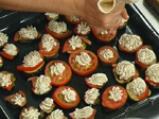 Патладжанено канапе с домати 3