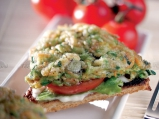 Клуб сандвич със зеленчукова плънка