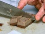 Шоколадов флан в два цвята