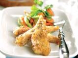 Панирано пиле с коричка от чубрица
