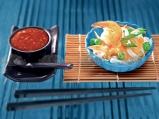 Оризови талиатели със зеленчуци, кашу...