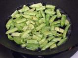 Пиле с бадеми и зелен фасул по китайски 3