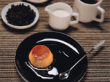 Крем карамел с кафе