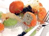 Бомбички от сьомга с мус от авокадо