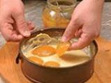 Кайсиев пай с белтъчна заливка 2