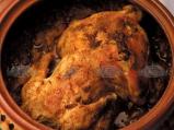 Пълнено пиле с кисело зеле